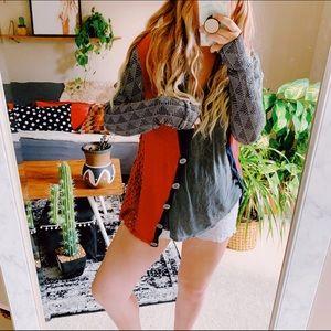 BKE gimmicks boho hippie cardigan sweater p11